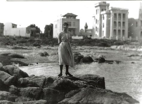 Pocitos, 1920 ou 21 - avec la tour