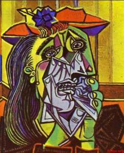 Picasso : Femme qui pleure
